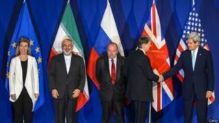 ईरान और दूसरे देशों के बीच परमाणु समझौता