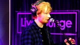 Ed Sheeran的专辑大受欢迎