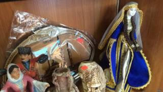 Куклы в национальной чечнской одежде