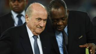 Blatter Hayatou