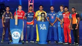 आईपीएल-8 में शामिल हो रही टीमों के कप्तान.