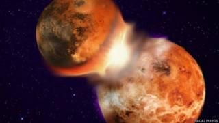 Космическое столкновение