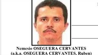Nemesio Oseguera Cervantes, líder del Cartel Jalisco Nueva Generación