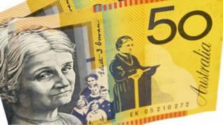 Avustralya'nın 50 dolarlık banknotu