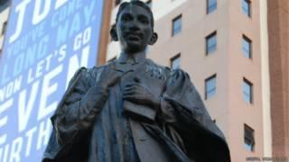 गांधी प्रतिमा, जोहानिसबर्ग