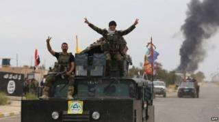 Солдаты правительственных войск