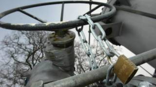 газовий вентиль