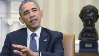 Барак Обама 14 апреля 2015 года