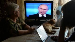 ТВ с Владимиром Путиным