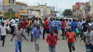 Imyiyerekano i Bujumbura