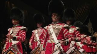 英女王特许皇家卫队士兵