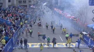 Взрывы на финише марафона в Бостоне 15 апреля 2013 года