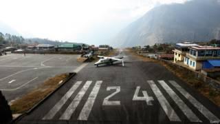 Aeropuerto Tenzing-Hillary, en Nepal