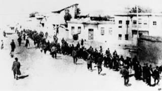 Депортация турецких армян в 1915 году