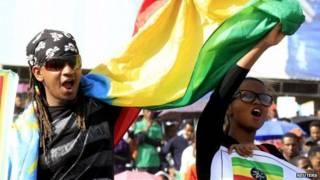 Демонстрация в Аддис-Абебе