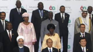 Leaders from Asia and Africa meet in Indonesia