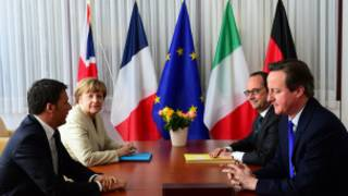 ဥရောပ ခေါင်းဆောင်များ ထိပ်သီး အစည်းအဝေး