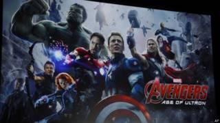 """Lançamento do filme """"Vingadores"""""""