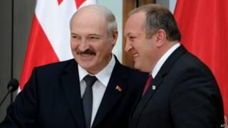 Лукашенко в Грузии