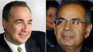 Лен Блаватник и Гопи Хиндуджа
