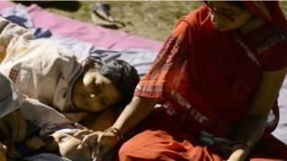 Fotoğraflarla: Nepal'deki deprem felaketi