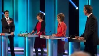 Debate electoral en el Reino Unido