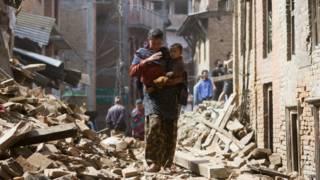 Terremoto en Nepal