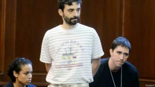 Сергей Алейников в суде Манхэттена