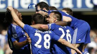 Chelsea itwaye Premier League inshuro zitanu
