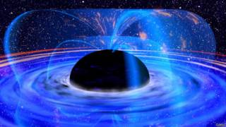 Un agujero negro masivo en la galaxia MCG-6-30-15, visto por el satélite XMM-Newton