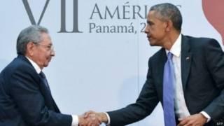 Рауль Касто и Барак Обама