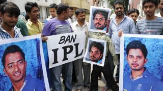 आईपीएल के ख़िलाफ़ प्रतिबंध