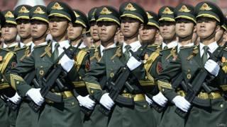 Солдаты НОАК в Москве