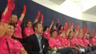 греческие уборщицы в парламенте