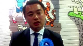 Alan Mak在接受BBC中文網專訪(08/05/2014)