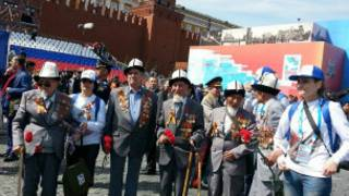 VE day i Moscow