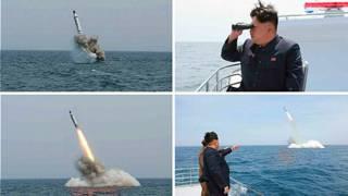 导弹水下试验