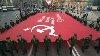 Репетиция парада Победы в Санкт-Петербурге