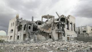 yemen, destrucción, hutíes