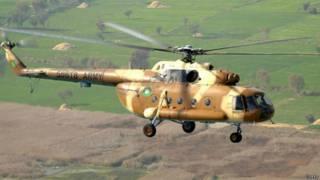 पाकिस्तानी सेना का हेलिकॉप्टर