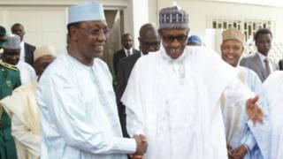Shugaba Deby da Janar Buhari