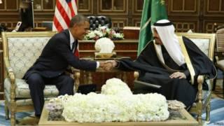 ओबामा और शाह सुलेमान