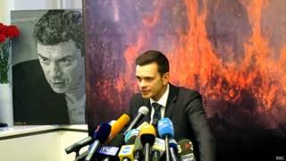 Илья Яшин, портрет Бориса Немцов