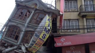 नेपाल, ढही हुई और खड़ी इमारत