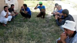 Мигранты из Таджикистана