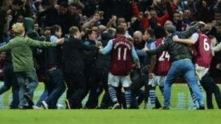 Aston Villa Pitch invasions