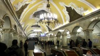 Metrô moscovita (Foto: Sandro Fernandes)