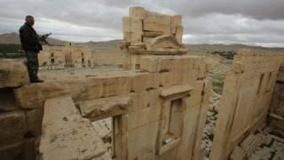 الاثار السورية في تدمر