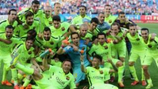 Barcelona La Liga Champs