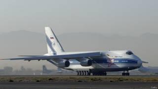 Ан-124 в аэропорту Кабула